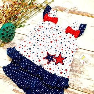 NWT🎆4th of July Outfit🎆Swiggles Red/White/…
